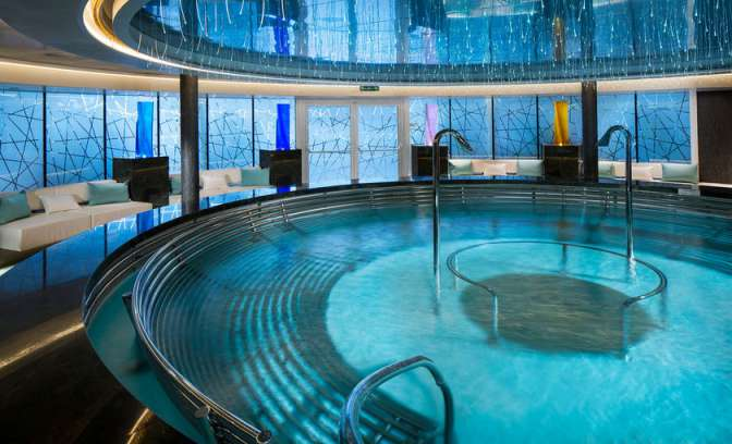 Greenhouse Spa van rederij Holland America Line