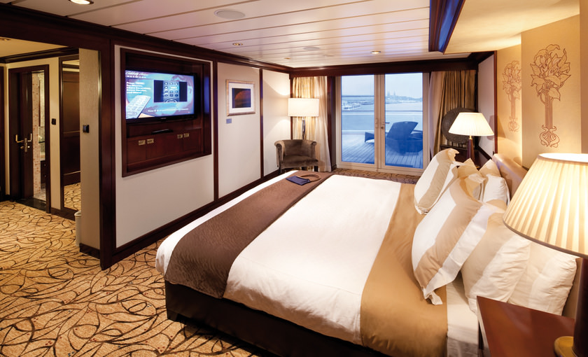 Penthouse Suite op Celebrity Constellation