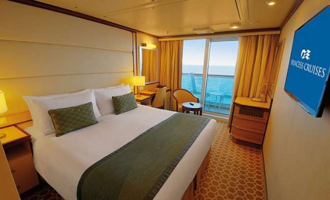 Balkonhut van Regal Princess