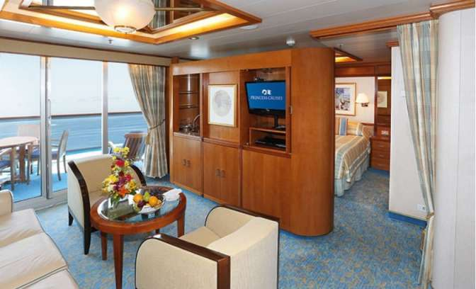Suite van rederij Princess