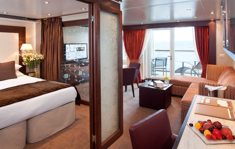Seabourn Odyssey Penthouse Suite