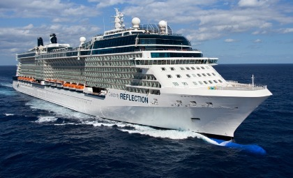 Cruiseschip Celebrity Reflection van rederij Celebrity Cruises