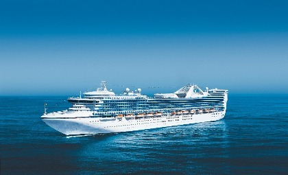 De Star Princess van rederij Princess Cruises