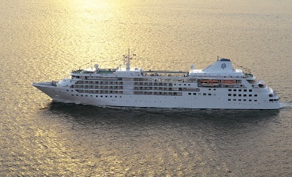 Cruiseschip Silver Cloud van rederij Silver Sea