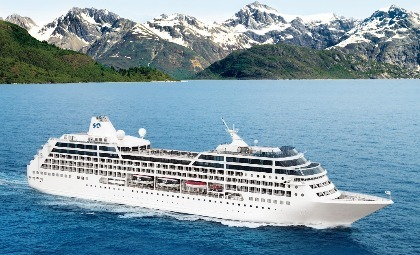 De Pacific Princess van rederij Princess Cruises